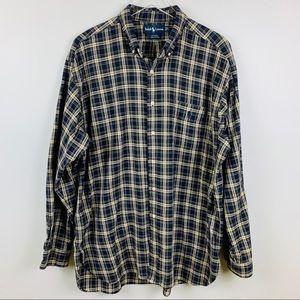 Ralph Lauren Long-Sleeve Plaid Button Down, XL